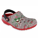 Disney Fleece Lined Crocs - Mickey & Minnie Holiday - Light-Up