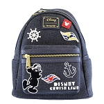 Disney Loungefly Mini Backpack - Disney Cruise Line - Captain Mickey