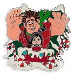 Disney Pin - Ralph & Vanellope Holiday