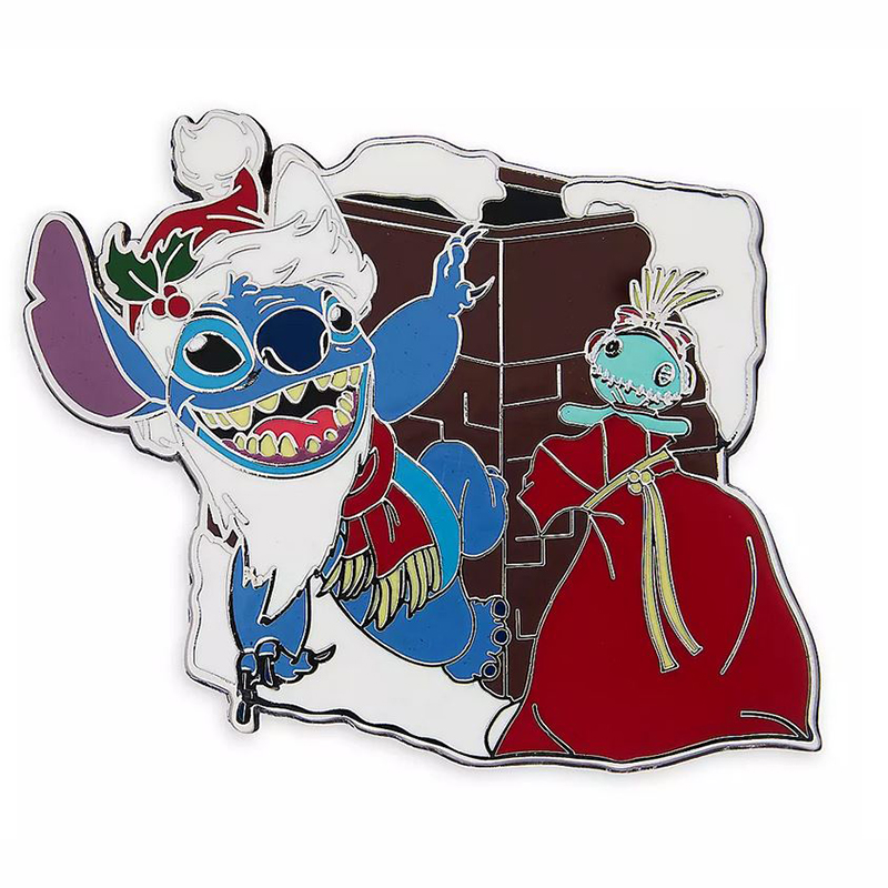 Disney Pin - Santa Stitch & Scrump Holiday