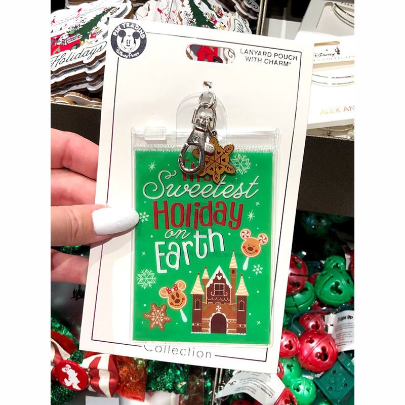 Disney Lanyard Pouch - The Sweetest Holiday On Earth
