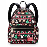 Disney Loungefly Bag - Disney Parks Holiday Food Icons - Mini Backpack