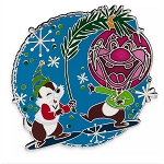 Disney Pin - Chip and Dale Holiday