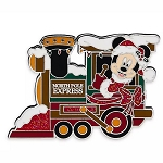 Disney Pin - Santa Mickey Mouse Train Locomotive
