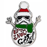 Disney Pin - Stormtrooper Holiday Snowman - Up To Snow Good