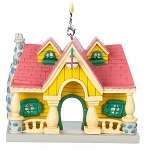 Disney Ornament - Mickey Mouse House - Toon Town Disneyland