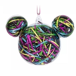Disney Ornament - Mickey Mouse Icon Ribbon - Retro