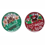 Disney Button Set - Disney Parks Holiday Treats