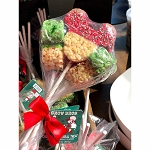 Disney Minnie's Bake Shop - Mickey Rice Crispy Treats - Christmas Bouquet