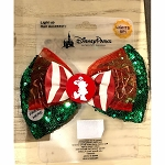 Disney Light-Up Hair Bow - Minnie Mouse Holiday