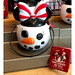 Disney Christmas Candy - Minnie Mouse Snowman - Gummi Snowmen & Trees