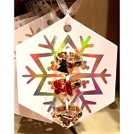 Disney Ornament Ring Set - Mickey & Minnie Mouse Holidays