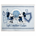 Disney Fleece Throw - Mickey & Minnie Mouse Chanukah