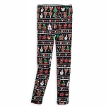 Disney Women's Leggings - Mickey & Minnie Holiday Treats
