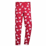 Disney Women's Leggings - Mickey Mouse Peppermint