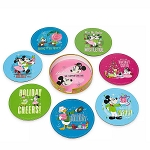 Disney Coaster Set - Mickey Mouse & Friends - Retro