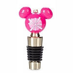 Disney Bottle Stopper - Mickey Mouse Icon Holiday - Retro - Pink