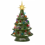 Disney Light Up Christmas Tree - Santa Mickey & Minnie Mouse