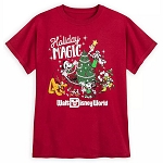 Disney Child's Shirt - Mickey Mouse and Friends Holiday Magic