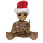 Disney Plush - Groot Christmas Mini Magnetic Shoulder Plush