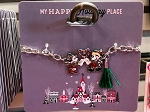 Disney Bracelet - Mickey & Minnie Holiday - Candy Cane Heart