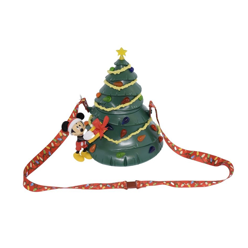 Disney Souvenir Popcorn Bucket - Mickey Mouse Christmas Tree