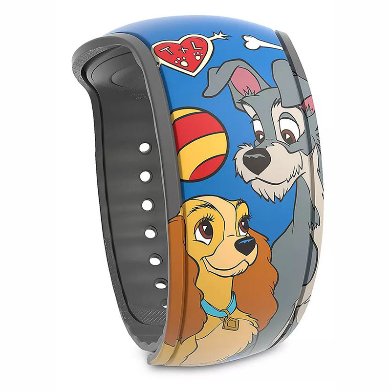 Disney MagicBand 2 Bracelet - Lady and the Tramp - Limited Release