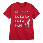 Disney Mens Shirt - Grumpy Holiday