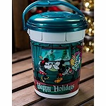 Disney Christmas Popcorn Bucket - Disney Parks 2019
