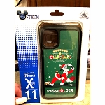 Disney iPhone X / Xs / 11 Pro Phone Case - Mickey's Very Merry Christmas Party - Goofy PASSHOLDER