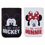 Disney Beverage Holder Set - Mickey & Minnie Mouse