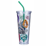 Disney Tumbler w/ Straw - Walt Disney World Resort