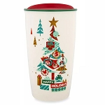 Disney Travel Tumbler - Happy Holidays Starbucks