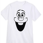 Disney Adult Shirt - Olaf - Flocked T-Shirt