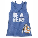 Disney Women's Shirt - BB-8 & D-O - Star Wars The Rise of Skywalker