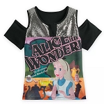 Disney Women's Shirt - Alice in Wonderland Fashion Top