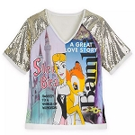 Disney Women's Shirt - Bambi and Sleeping Beauty Fashion T-Shirt