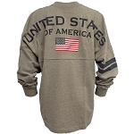 Disney Adult Shirt - Spirit Jersey - United States of America - Epcot American Pavilion