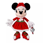 Disney Plush - Santa Minnie Mouse - 17''