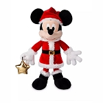 Disney Plush - Santa Mickey Holiday 2019 - 15''