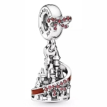 Disney Pandora Charm Set - Mickey and Minnie Mouse Disney Parks Holiday