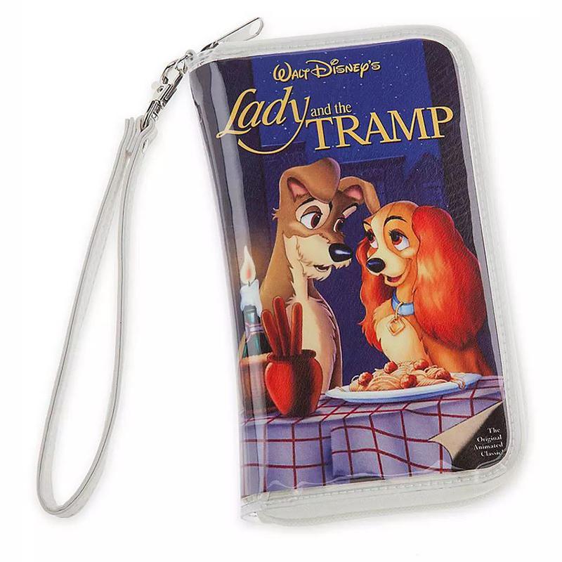 Disney Bag Lady The Tramp Vhs Case Clutch