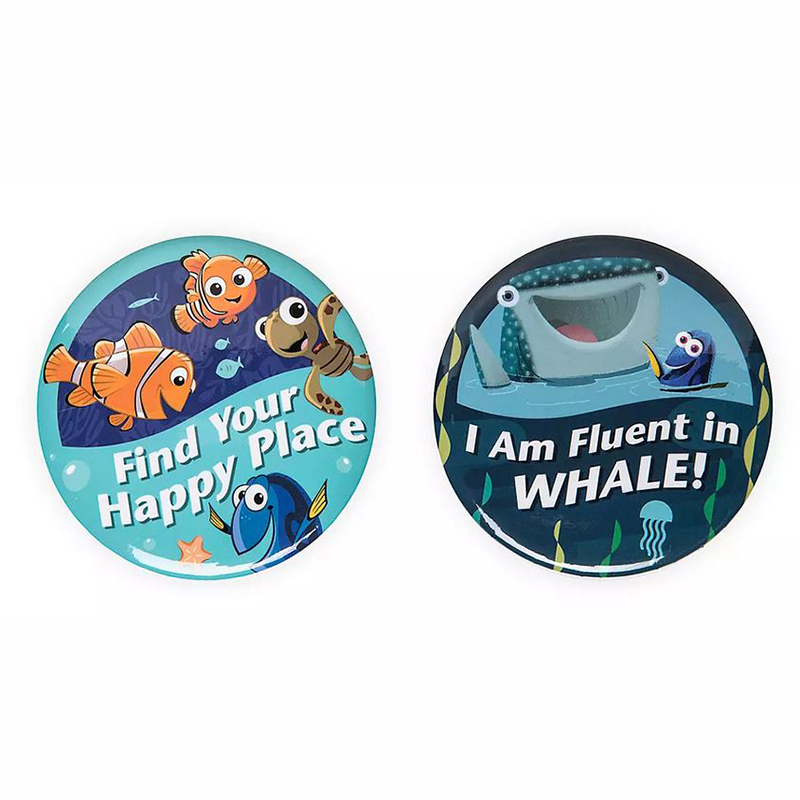 Disney Button Set - Finding Nemo / Finding Dory