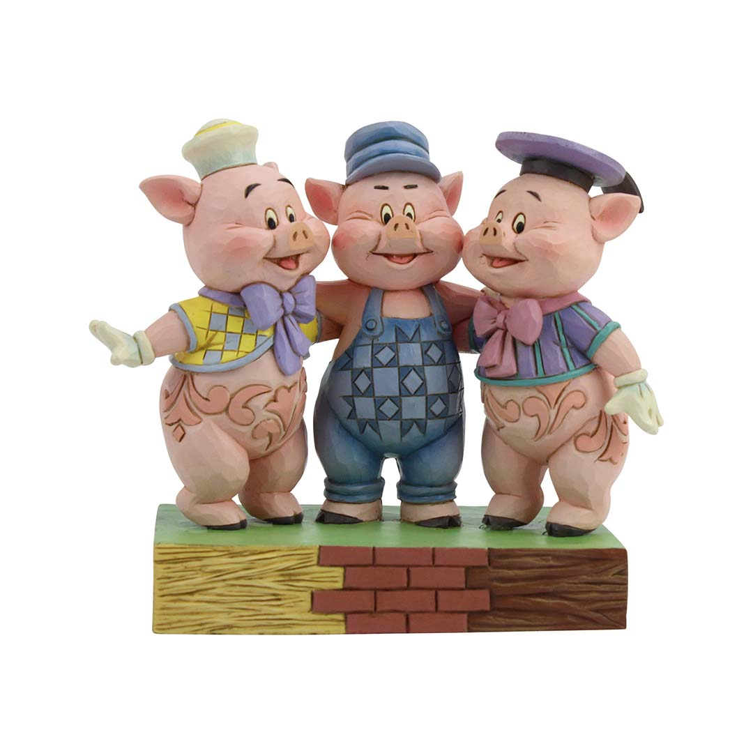 Disney Traditions by Jim Shore Figure - Three Little Pigs