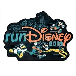 Disney Car Magnet - runDisney 2019 Mickey and Friends