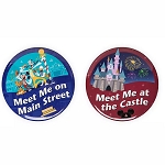Disney Button Set - Main Street U.S.A / Fantasyland Castle