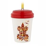 Disney Ornament - Hollywood Studios Starbucks Take Away Cup Mug