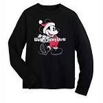 Disney Adult Sweatshirt - Mickey Mouse Holiday
