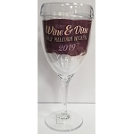 Disney Tervis Wine Glass - runDisney Wine and Dine Half Marathon Weekend