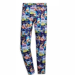 Disney Women's Leggings - VHS Covers
